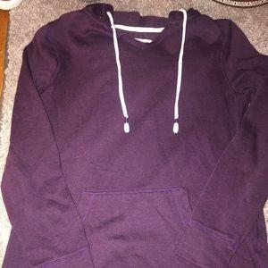 Purple hoodie gently used